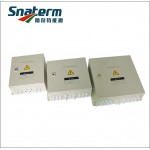 Photovoltaic array solar combiner box for solar power system