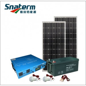 1000W Complete solar off grid home power system