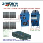 3000W Complete solar off grid home power system